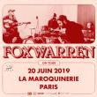 Concert FOXWARREN à PARIS @ La Maroquinerie - Billets & Places