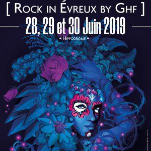 Rock In Evreux By Ghf 2019 - Pass 2 Jours Vendredi + Samedi