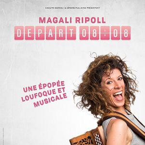 Magali Ripoll dans Départ 08h08 @ APOLLO THEATRE - PARIS