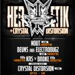 Concert HERETIK CREW + CRYSTAL DISTORTION à RAMONVILLE @ LE BIKINI - Billets & Places