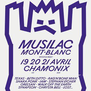 MUSILAC 2018 MONT BLANC - PASS JOUR 3 @ LE BOIS DU BOUCHET  - CHAMONIX MONT BLANC