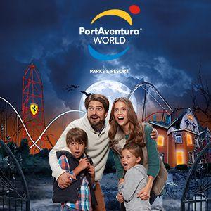 Ticket 2 jours 2 parcs (PortAventura Park + Ferrari Land) -10%  @ PortAventura - TARRAGONA