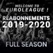 Match RE-ABONNEMENT 2019/2020 FULL SAISON à Villeurbanne @ Astroballe - Billets & Places