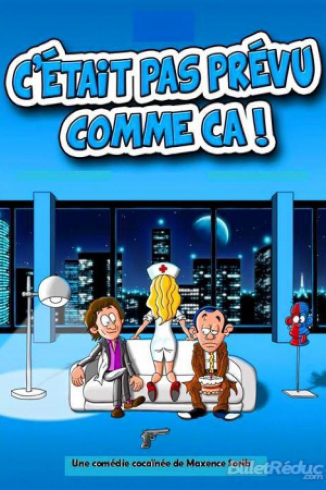 C'ETAIT PAS PREVU COMME CA @ LE K - KABARET CHAMPAGNE MUSIC HALL - TINQUEUX