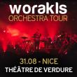 Concert WORAKLS ORCHESTRA - THEATRE DE VERDURE à NICE - Billets & Places