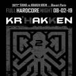 Soirée 3672*kraken // Hardcore // Manu le Malin / 3FAZé / DKLé / NAWAK