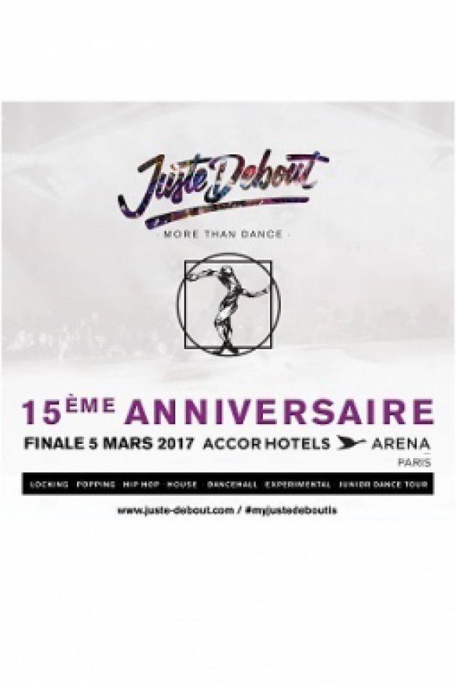 Soirée JUSTE DEBOUT à PARIS 12 @ ACCORHOTELS ARENA - Billets & Places