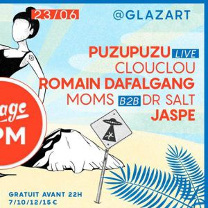 Plage Bpm by Newtrack W/Puzupuzu (live), Clouclou & Newtrack Gang @ Glazart - PARIS 19