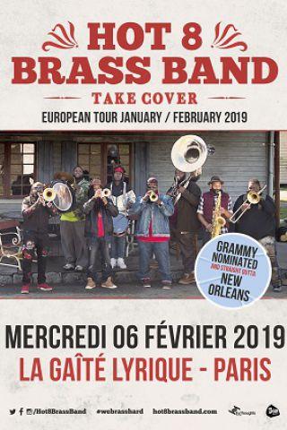 Concert HOT 8 BRASS BAND à Paris @ La Gaîté Lyrique - Billets & Places