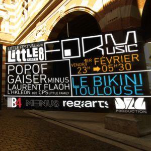 Little Festival Invite Form Music : Popof + Gaiser