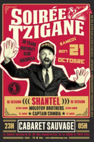 Billets SHANTEL DJ Set - Soirée Tzigane - Cabaret Sauvage