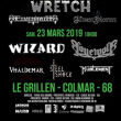 Concert SKULL CRUSH IV : WIZARD + LONEWOLF