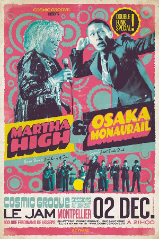 MARTHA HIGH & OSAKA MONAURAIL @ Le Jam - Montpellier