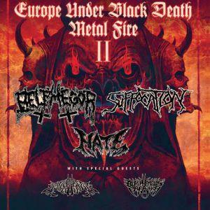 Belphegor + Suffocation + Hate - Le Grillen - Colmar