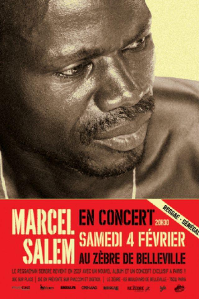 Marcel SALEM en concert au Zèbre de Belleville à PARIS @ Le Zèbre de Belleville - Billets & Places