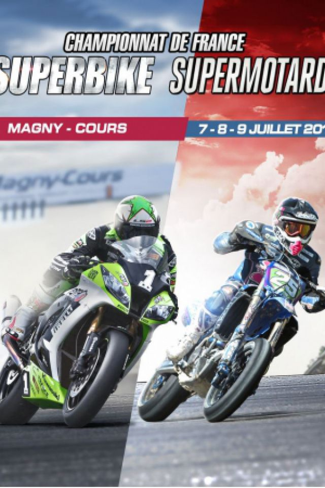 Championnat de France Superbike/Championnat de France Supermotard @ Circuit Nevers Magny-Cours - Magny-Cours