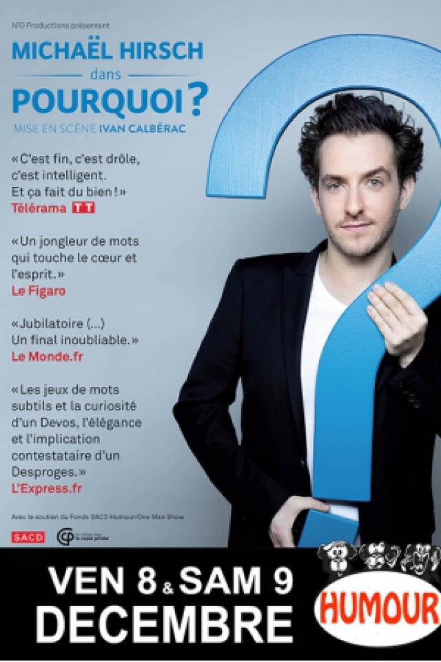 """Michaël Hirsch : """"Pourquoi ?"""" @ BAIE DES SINGES - Cournon d'Auvergne"""