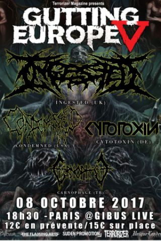 Concert Ingested + Condemned + Cytotoxin + Carnophage