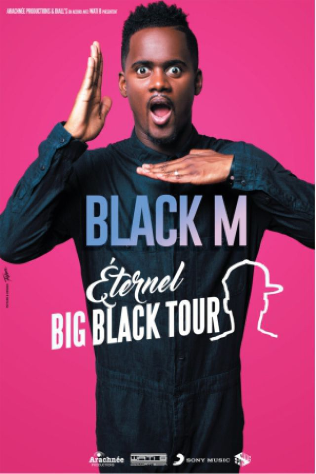 Concert BLACK M à DUNKERQUE @ Le Kursaal - Billets & Places