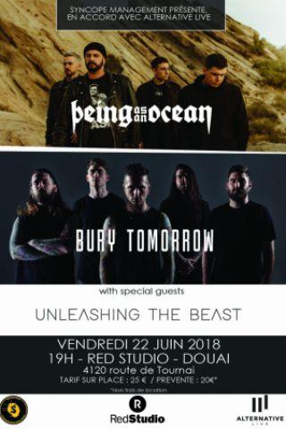 Concert BEING AS AN OCEAN + BURY TOMORROW + UNLEASHING THE BEAST + Guest