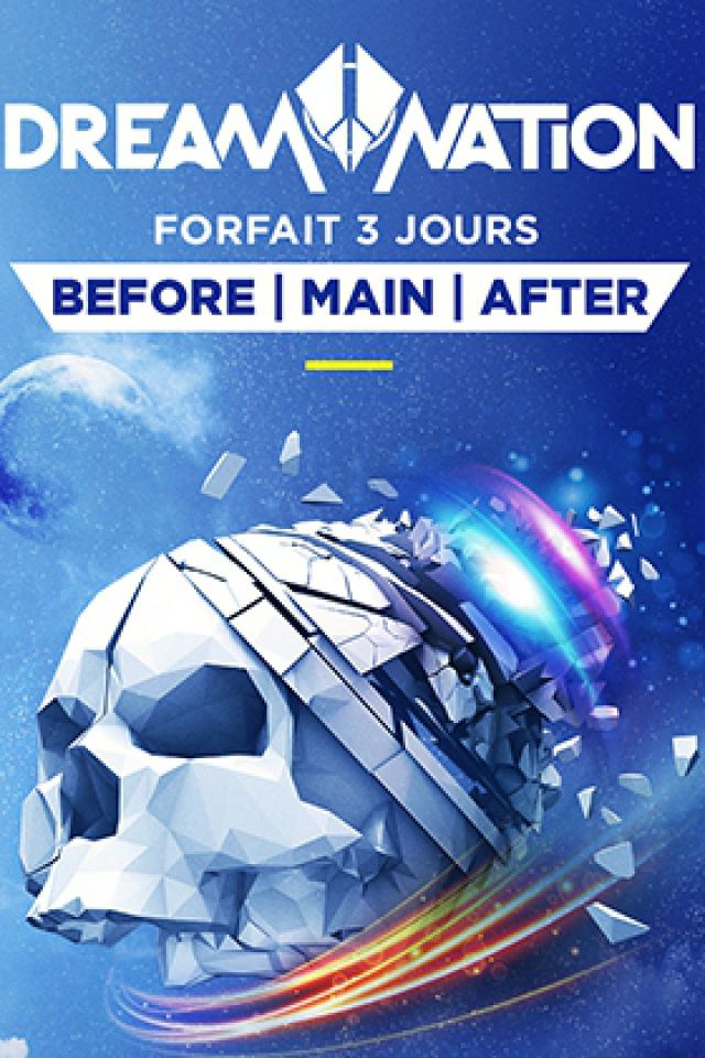 FORFAIT 3 JOURS // DREAM NATION + BEFORE + AFTER PARTY @  PETIT BAIN + DOCKS DE PARIS+PLAGE DE GLAZART - PARIS