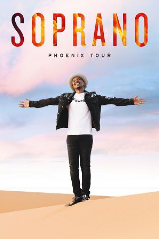 """Concert SOPRANO """" PHOENIX TOUR """" à MÂCON @ Le Spot - Billets & Places"""