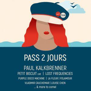 Touquet Music Beach Festival - Pass 2J : Paul Kalkbrenner & More