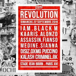 Revolution : Iam, Black M, Kaaris, Fianso, Assassin, Disiz