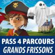 4 PARCOURS (Pass grands frissons)