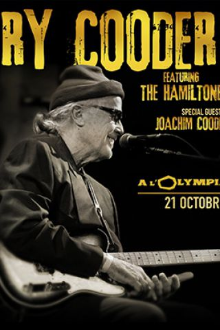 Billets RY COODER featuring The Hamiltones - L'Olympia
