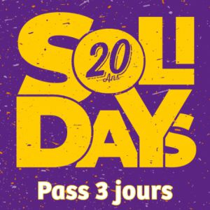 SOLIDAYS 2018 - PASS 3 JOURS 89€ @ Hippodrome de Longchamp - Paris