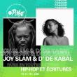Concert Paris en toutes lettres - D' de Kabal et Joy Slam