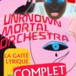 Concert UNKNOWN MORTAL ORCHESTRA à Paris @ La Gaîté Lyrique - Billets & Places