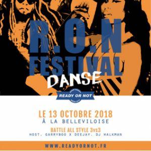 BATTLE DANSE - R.O.N FESTIVAL 2018 @ La Bellevilloise - Paris