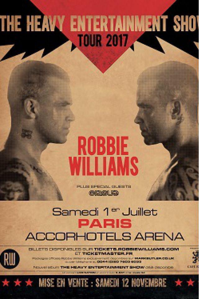 ROBBIE WILLIAMS @ ACCORHOTELS ARENA - PARIS 12