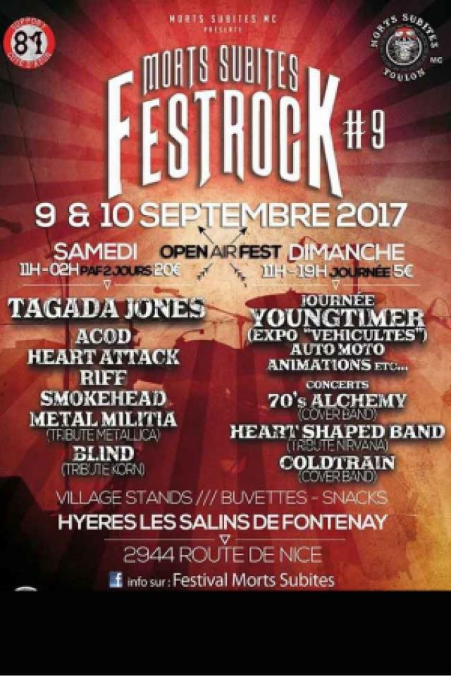 Festrock Morts Subites @ OPEN AIR FESTIVAL - HYÈRES