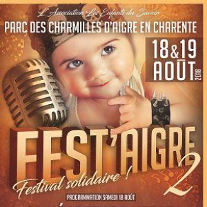 Fest'Aigre - Les négresses vertes- Les hurlements d'léo @ Parc des Charmilles - AIGRE