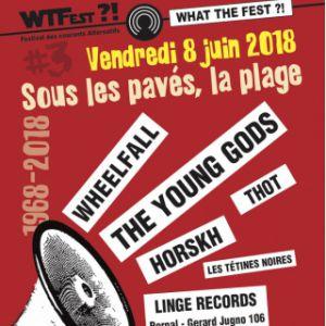 WHAT THE FEST?! #3 - SOUS LES PAVÉS, LA RAGE - VENDREDI 8 JUIN @ Espace de la Cadoule (Montpellier 34) - VENDARGUES