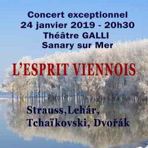Orchestre Jacques Chalmeau @ Théâtre Galli - SANARY SUR MER
