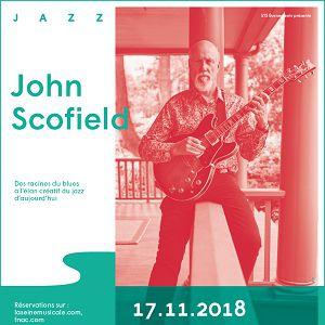 JOHN SCOFIELD QUARTET @ Auditorium - La Seine Musicale - BOULOGNE BILLANCOURT