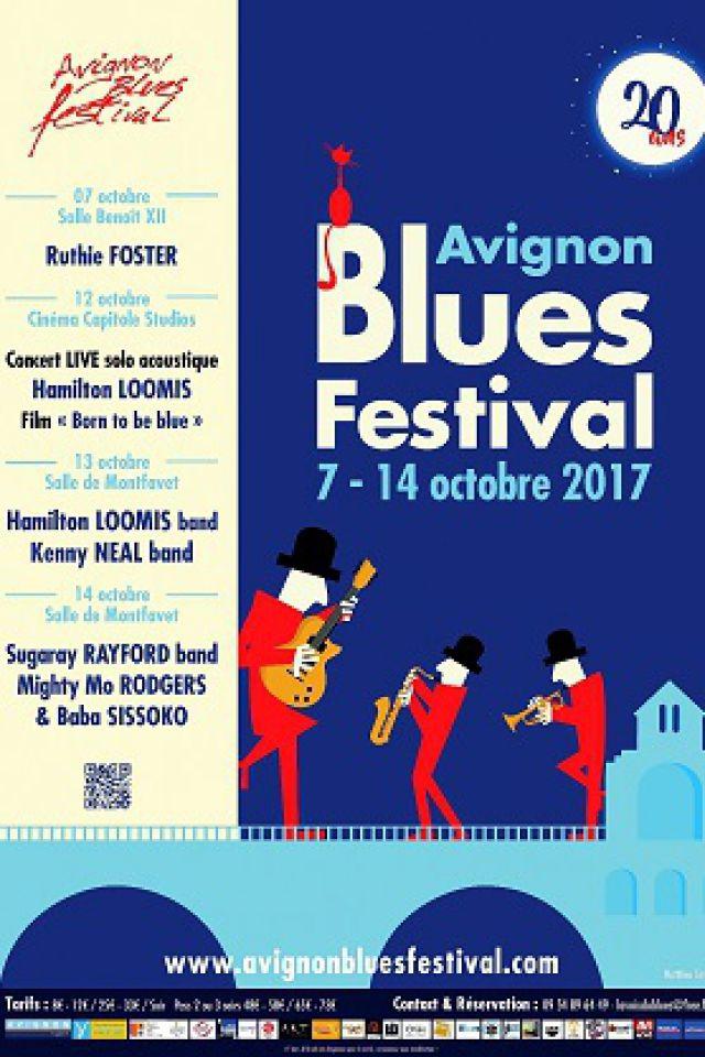 AVIGNON BLUES FESTIVAL - PASS 3 soirs 7, 13 et 14 Oct @ Salle Benoît XII - AVIGNON