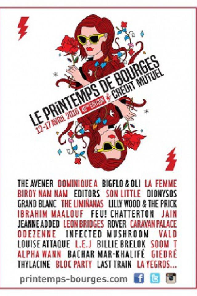 Festival 04 - HAPPY FRIDAY THE AVENER, LILLY WOOD & THE PRICK... à BOURGES @ LE W ET LE PALAIS D'AURON - Billets & Places