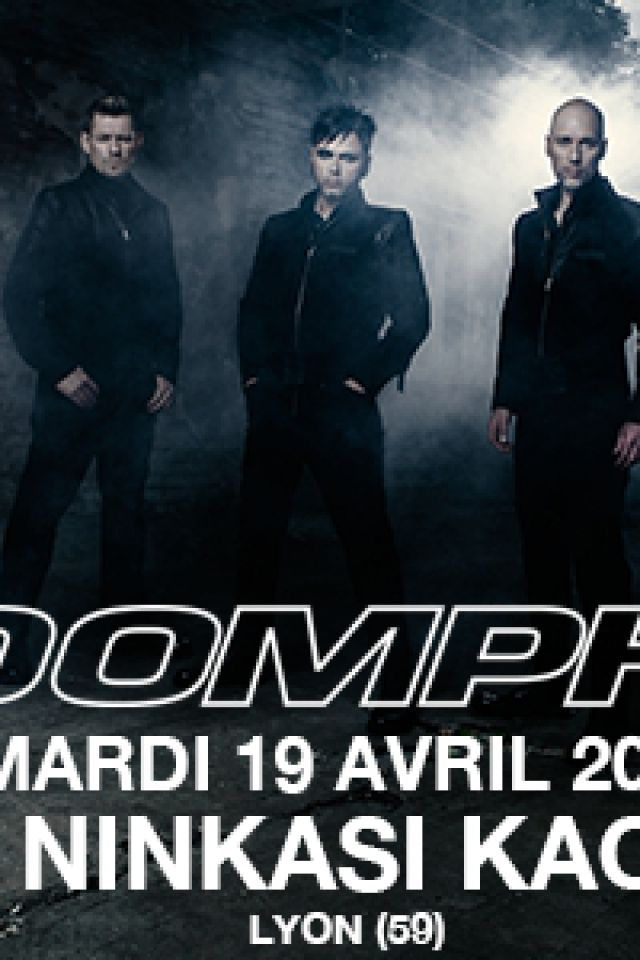 "Concert OOMPH! ""XXV"" EUROPEAN TOUR 2016 + guest à LYON @ Ninkasi Gerland / Kao - Billets & Places"