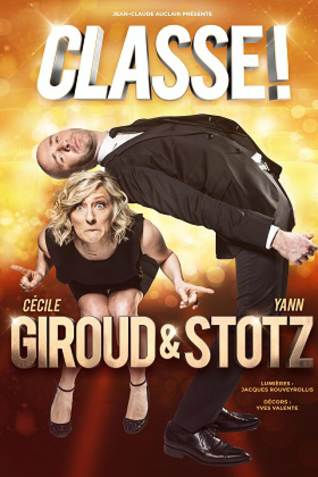 Cécile GIROUD & Yann STOTZ - CLASSE ! @ Salle Marcel Sembat - Chalon sur Saône