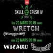 Concert SKULL CRUSH IV WARM UP / WRETCH + ELVENPATH + ELVENSTORM