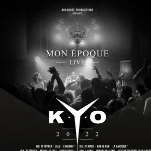 """Kyo """"Mon Epoque Live"""""""