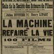 """Expo """"La Machine à refaire la vie"""" de Julien Duvivier (1933, 30min)"""