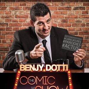 "Benjy Dotti Dans ""Comic Late Show """