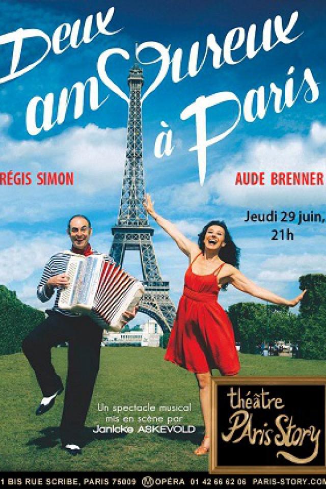 Deux amoureux à Paris @ THEATRE PARIS STORY - PARIS