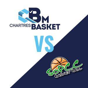 Match C'chartres Basket M Vs So Pont De Cheruy Basket - Nm1